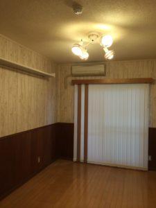 室内干しシェルフ(左壁)