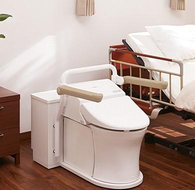 ベッドサイド水洗トイレTOTO