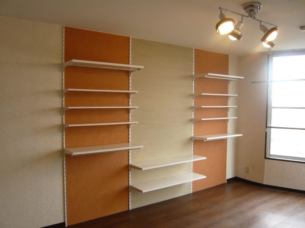 レール&棚板の幅と高さを変えて自由度UP