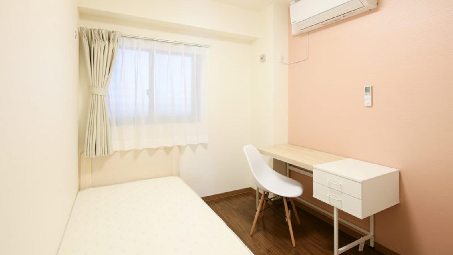 家具付きシェアハウス女子部屋
