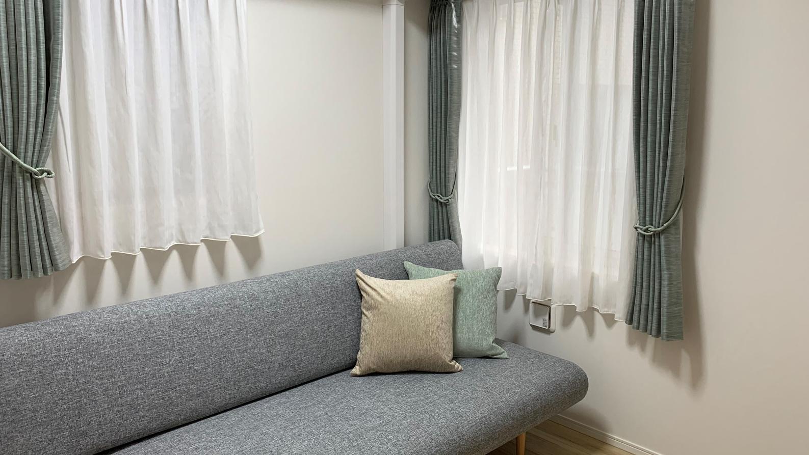 セカンドハウスのソファーベッド