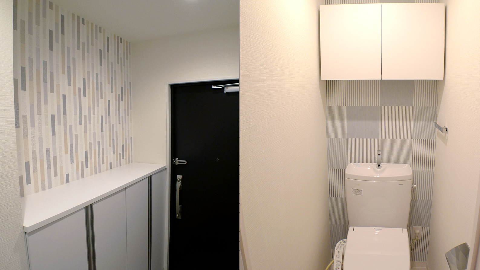 全室デザイン違いの都心4戸マンション