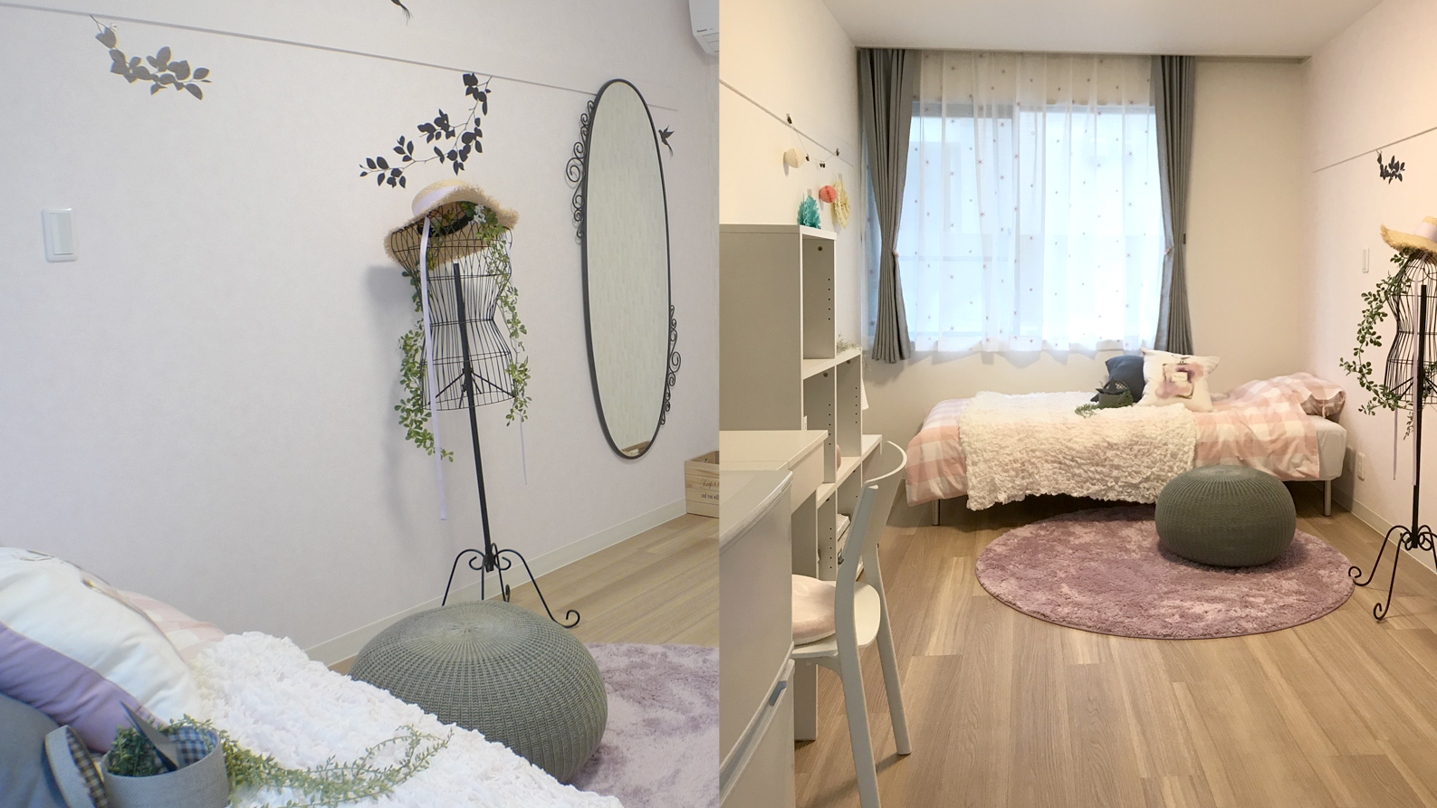 A棟_女子個室モデルルーム