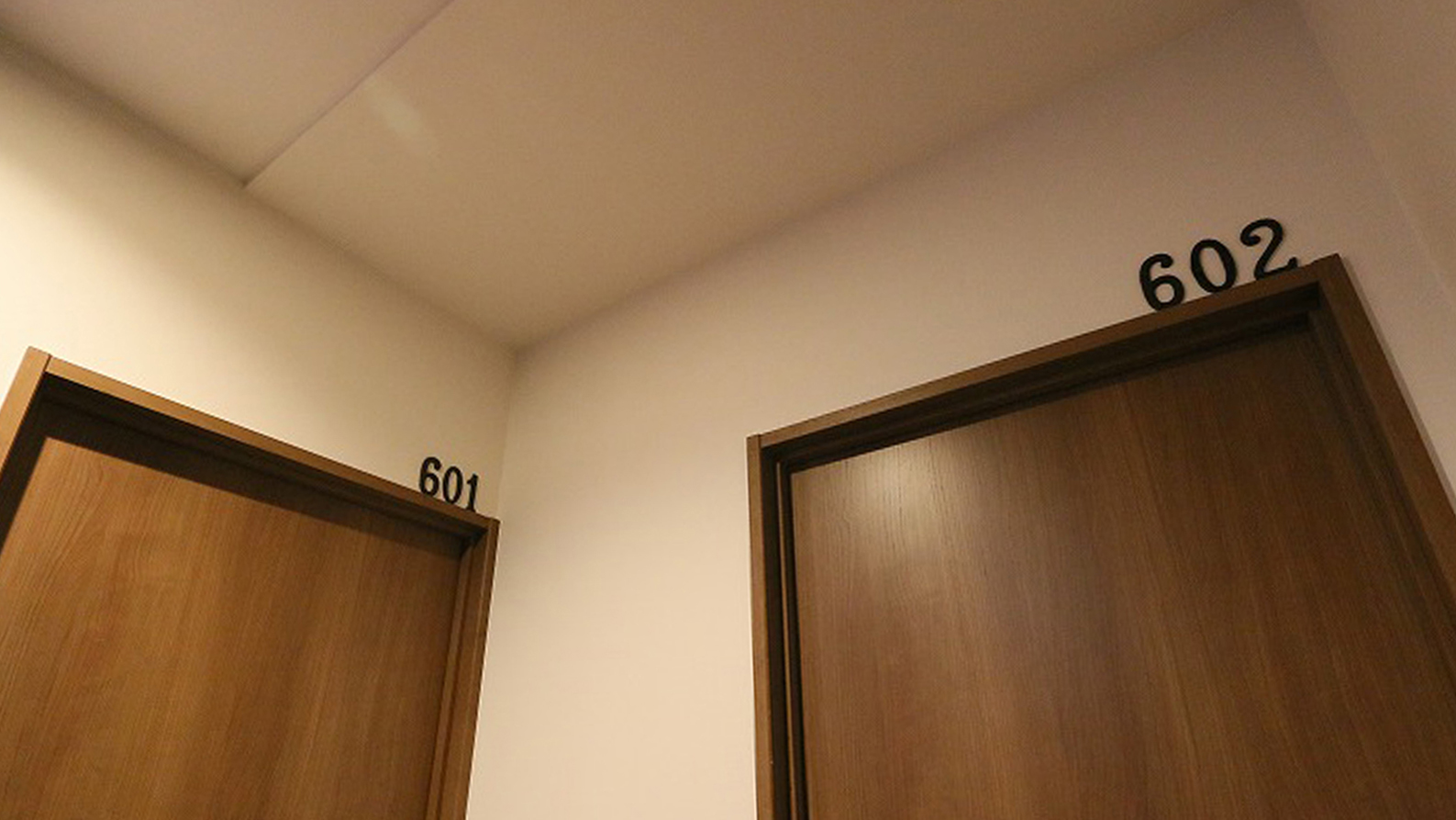 個室ナンバー表示