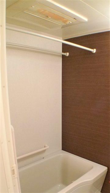 浴室乾燥機で室内干しも便利に